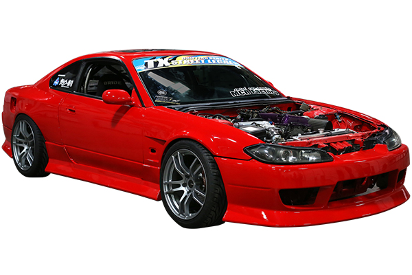 enkei tx5 tuning wheels nissan silvia s15 installed