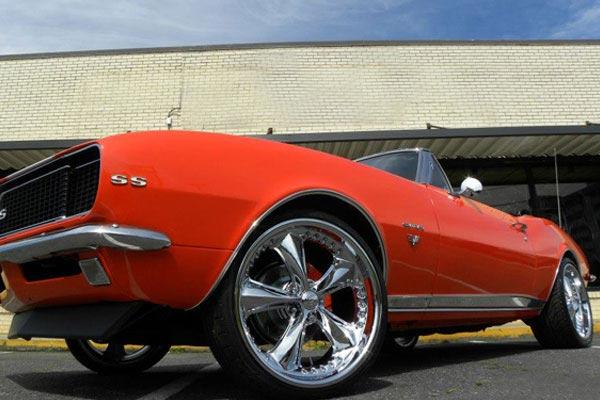 foose nitrous wheels camaro