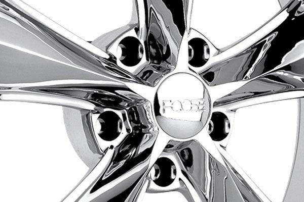 foose nitrous wheels center cap