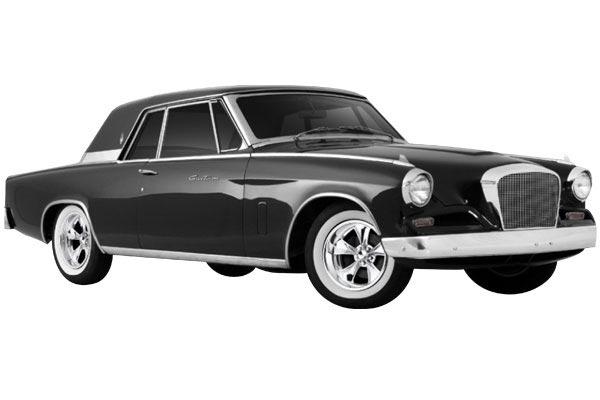 foose nitrous wheels studebaker hawk gran turismo 1960