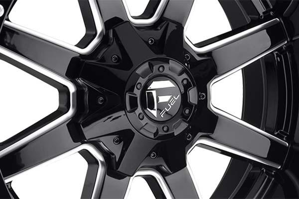 fuel maverick beadlock wheels center