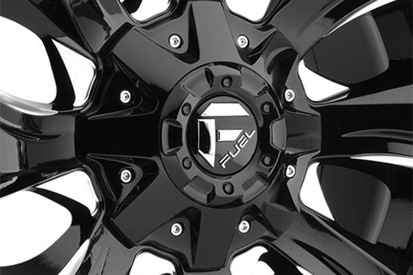 fuel stryker wheels center