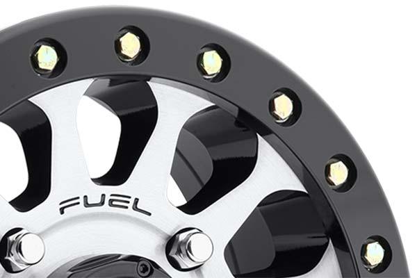 fuel vector utv beadlock wheels lip