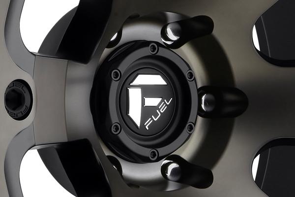 fuel beast wheels center cap