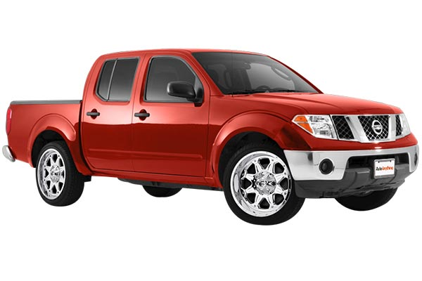 fuel boost wheels nissan frontier installed