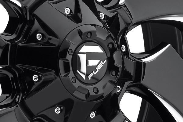 fuel cleaver wheels center cap