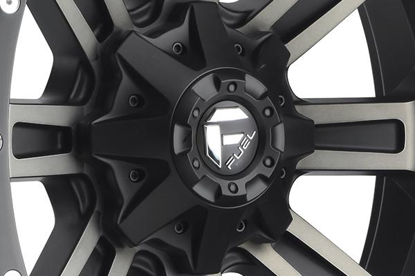 fuel crush wheels center cap