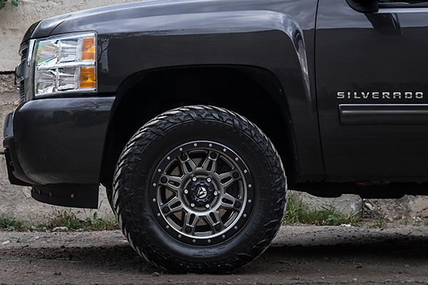 fuel hostage iii wheels silverado detail lifestyle