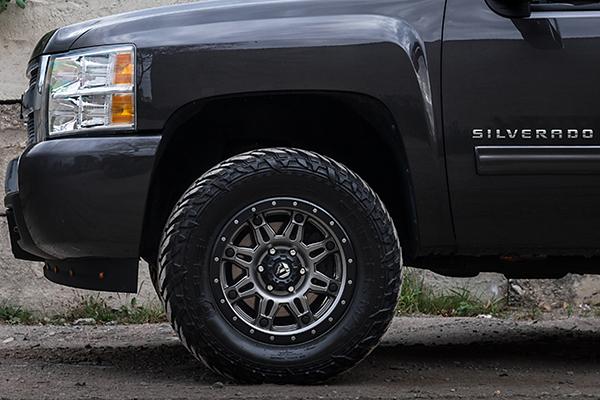 fuel hostage iii wheels silverado detail lifestyle