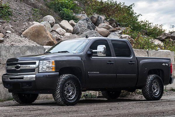 fuel hostage iii wheels silverado front lifestyle