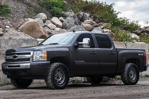 fuel hostage iii wheels silverado front lifestyle