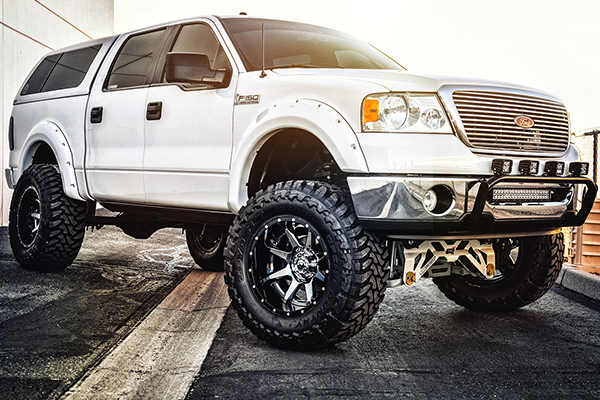 fuel rampage wheels white f150 lifestyle