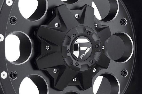 fuel revolver wheels center cap
