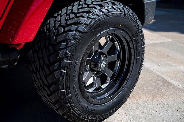 fuel savage wheels jeep detail