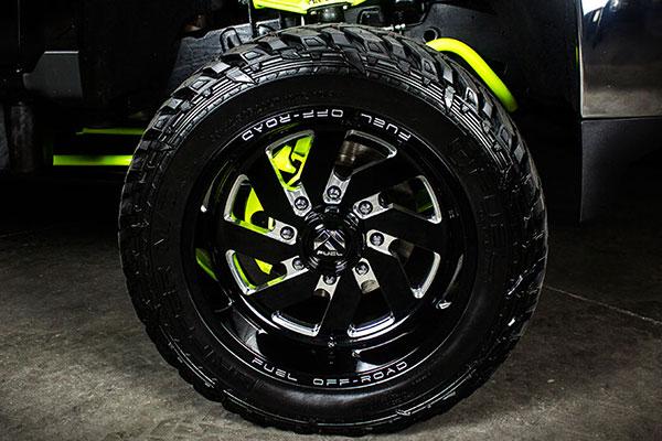 fuel turbo wheels detail