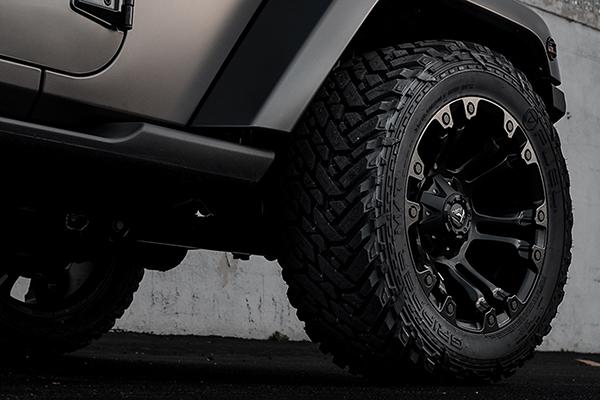 fuel vapor wheels jeep detail