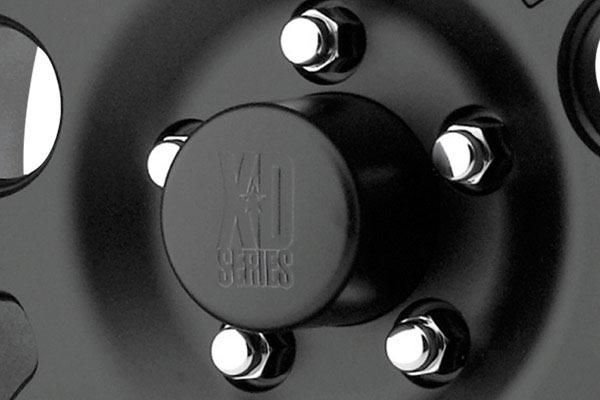 kmc xd series XD122 matteblack center cap