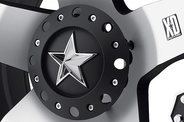 kmc xd series XD775 rockstar machined center cap
