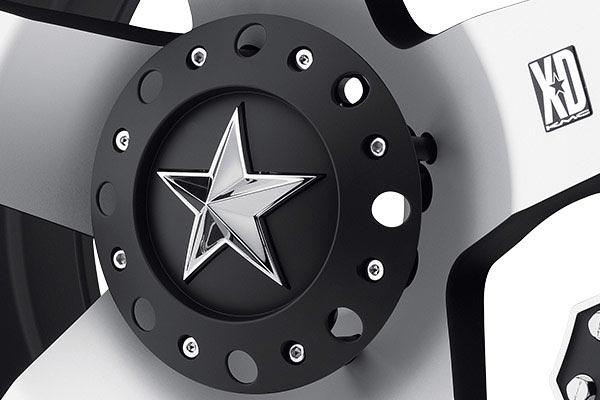 kmc xd series XD775 rockstar machined center cap