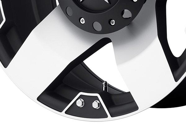 kmc xd series XD775 rockstar machined spoke