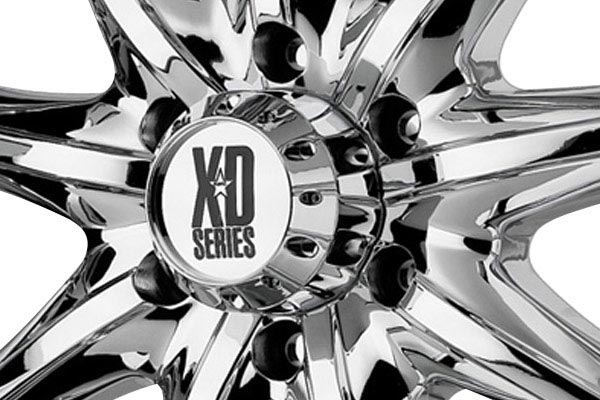 kmc xd series XD779 chrome center cap