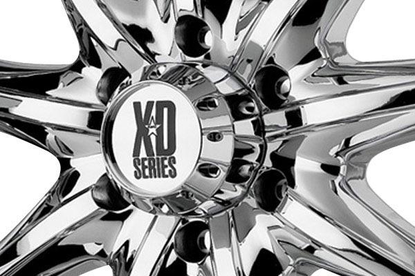 kmc xd series XD779 chrome center cap