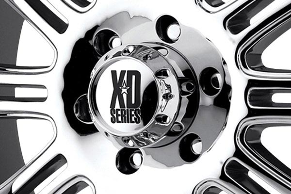 kmc xd series XD795 hoss chrome center cap