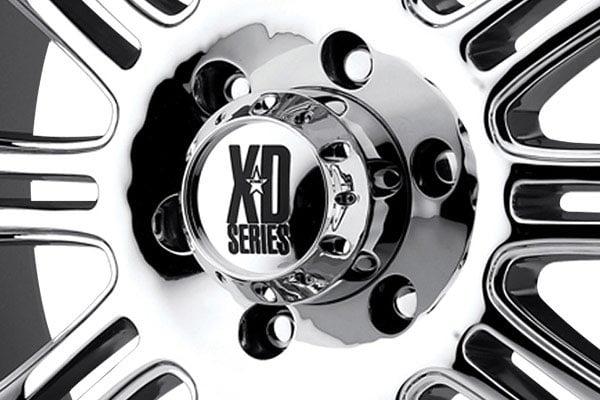 kmc xd series XD795 hoss chrome center cap