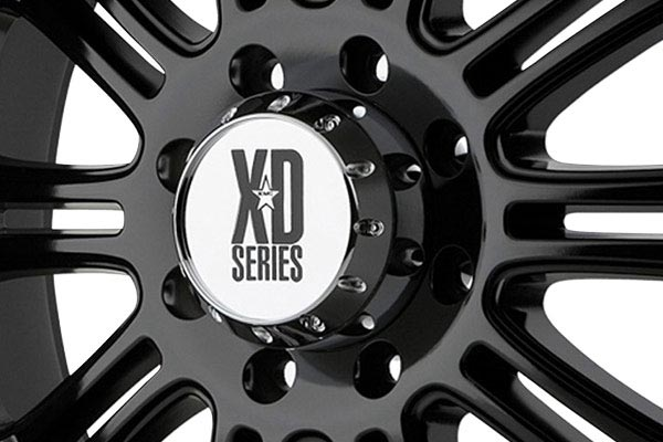 kmc xd series XD795 hoss glossblack center cap
