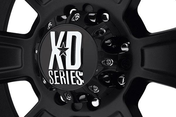 kmc xd series XD796 revolver matte center cap