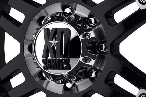 kmc xd series XD797 spy gloss black machined center cap