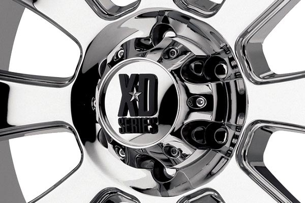 kmc xd series XD799 armour chrome center cap
