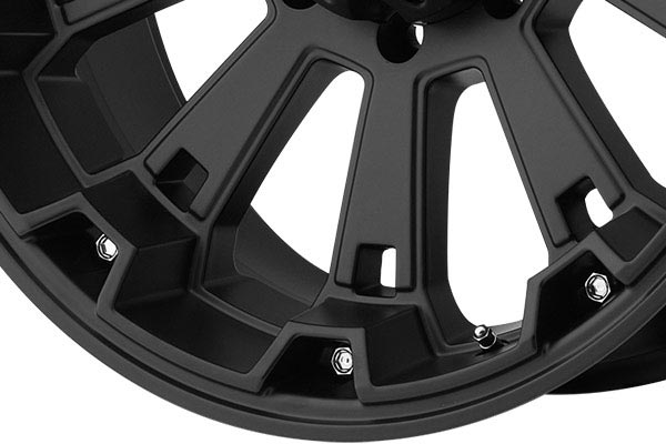 kmc xd series XD800 misfit matte black spoke