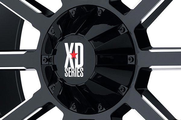 kmc xd series XD806 gloss black center cap