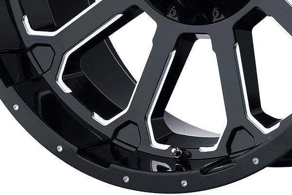 kmc xd series XD806 gloss black spoke