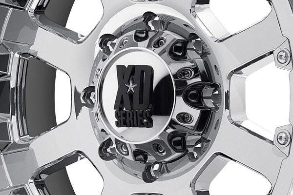 kmc xd series XD807 strike chrome center cap