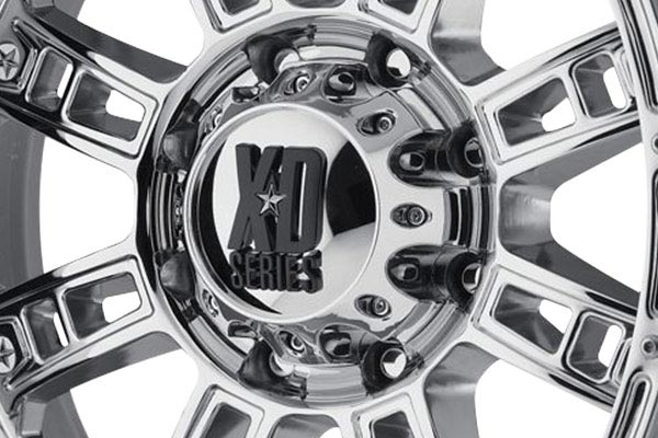 kmc xd series XD809 chrome center cap