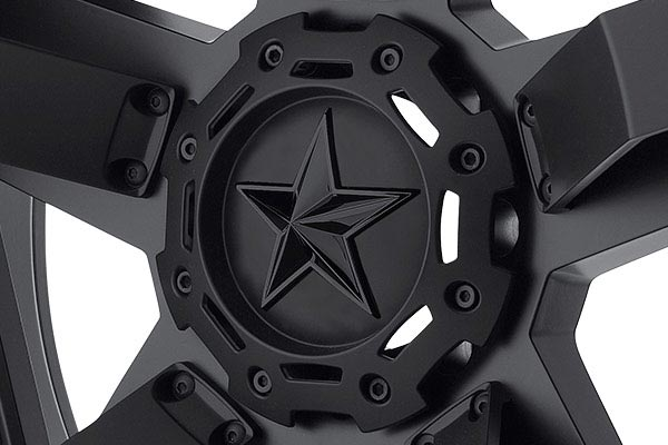 kmc xd series XD811 rs2 matte black center cap