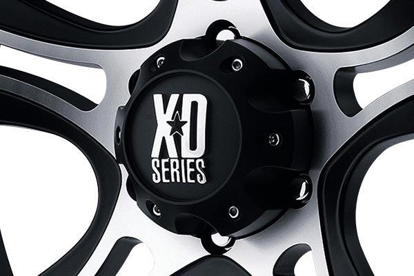 kmc xd series xd801 crank machined black center cap