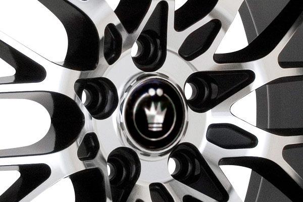 konig lace wheels center cap