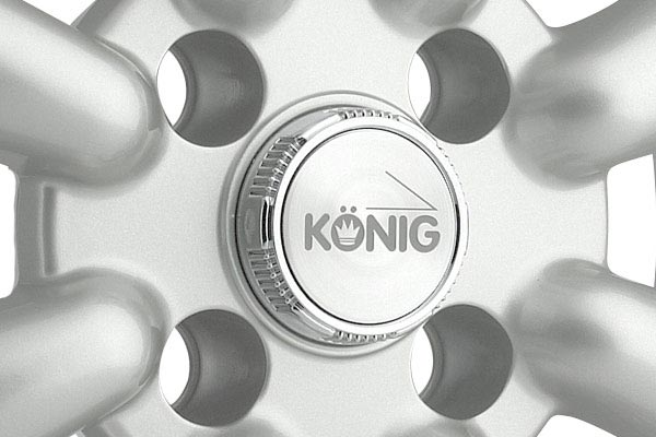 konig rewind wheels center cap