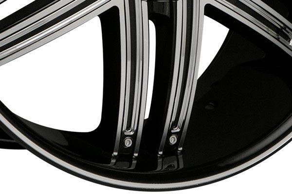 lexani advocate black machined wheels spoke