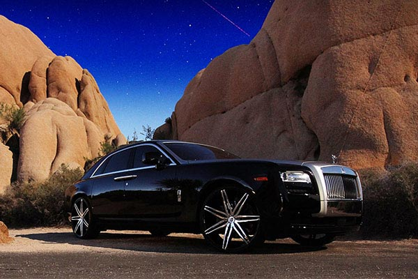 lexani johnsonII black rolls royce ghost