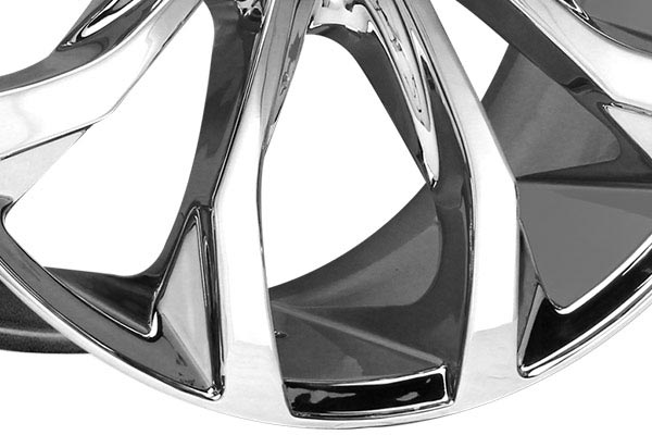 lexani lust chrome wheels spoke