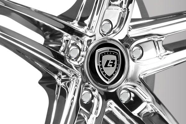 lexani r three chrome wheels center cap