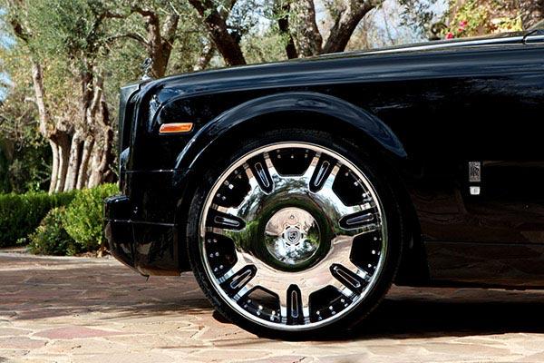 lexani radiant chrome rolls royce phantom wheel profile