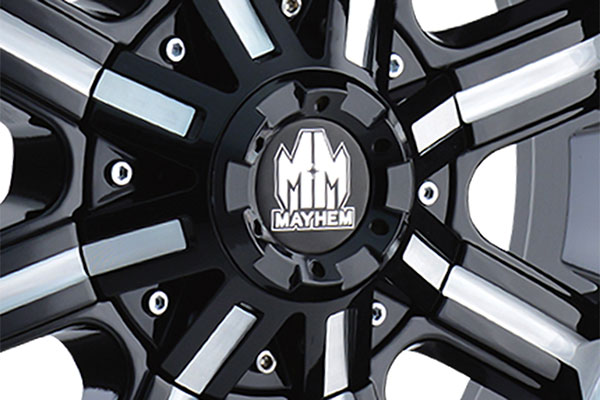 mayhem beast wheels center