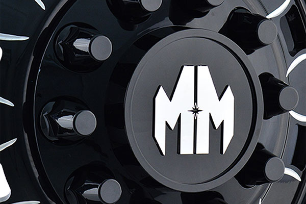 mayhem big rig dually wheels center