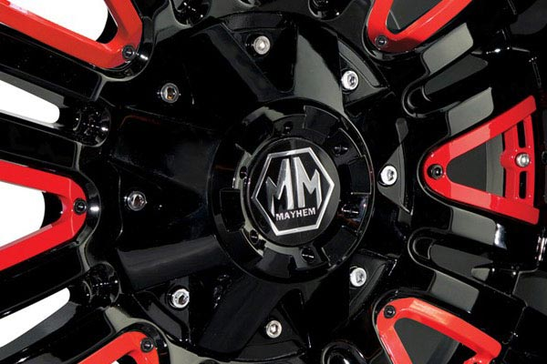 mayhem assault wheels center cap