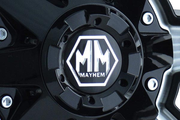 mayhem rampage wheels center cap